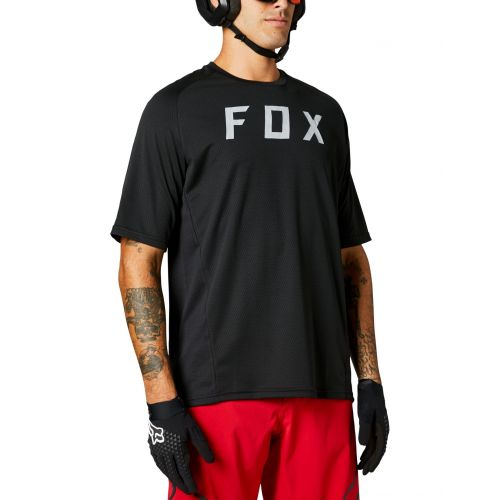 Fox Defend Ss Jersey Black 27630-001