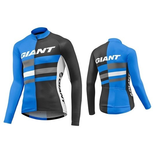 Giant Pursue LS Jersey Blue 850002405